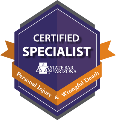 Certified Specialist - Personal Injury & Wrongful Death